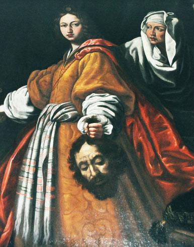 Castellare di Mercurio - Judith et Holopherne-d'ap C. Allori-Ecole italienne 17è