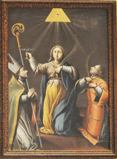 LOZZI - Eglise St Jacques le Majeur - Tableau de Francesco Carli