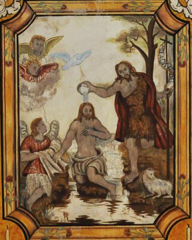 Ficaja - Baptême du Christ (détail)