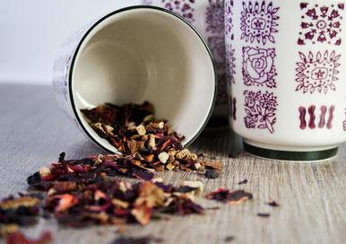 Getrockneter Tee