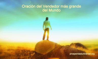 LIBRO DE ORACIÓN DIARIA - ORACIÓN PODEROSA  - EL VENDEDOR MAS GRANDE DEL MUNDO - PROSPERIDAD UNIVERSAL