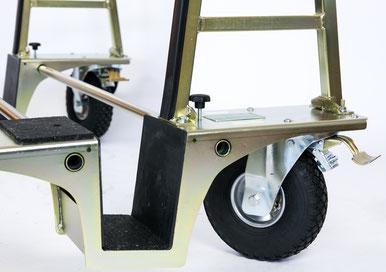TSL 600 Air Glastransportwagen 600 kg luftbereift Luftreifen transportsolution