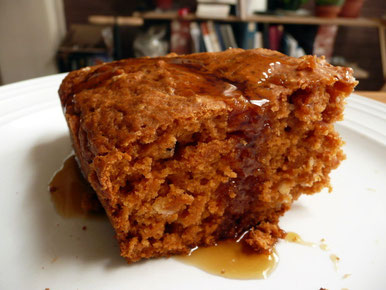 Un gâteau sucré à la soupe de tomates ?! si si !