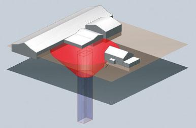3D-Analyse Schachtgefährdungsbereich