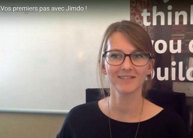 Vidéo pour montrer les premiers pas chez Jimdo