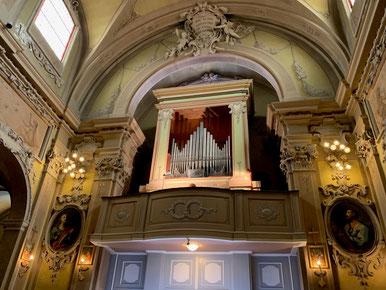 lugo教会パイプオルガン