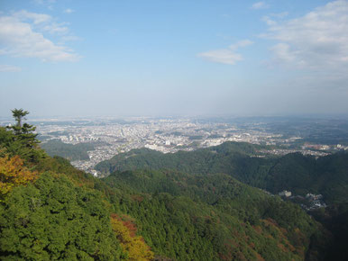 View to Central Tokyo from Mt. Takao Tokyo Hachioji TAMA Tourism Promotion - Visit Tama 高尾山から都心眺望 東京都八王子市 多摩観光振興会