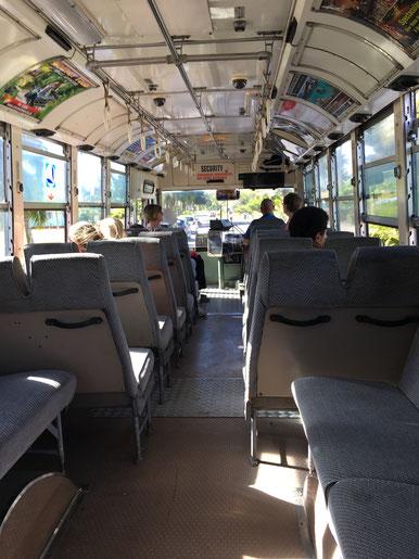 rarotonga bus, circle island bus,