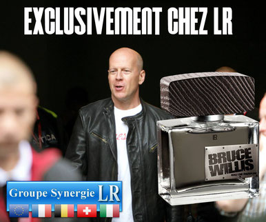 Parfums de stars comme Bruce Willis