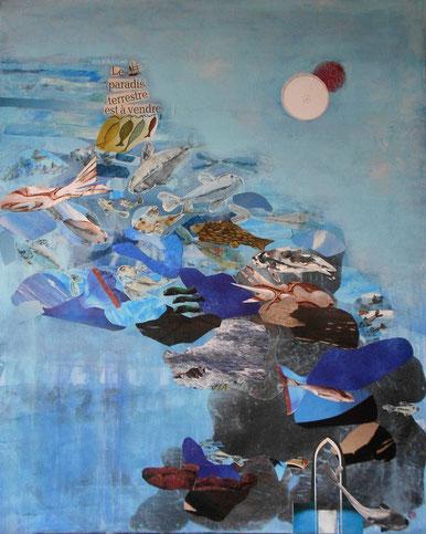 peinture toile maritime
