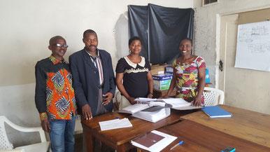 Assistants sociaux du Départment des Affaires Sociales (DIVAS) de Goma