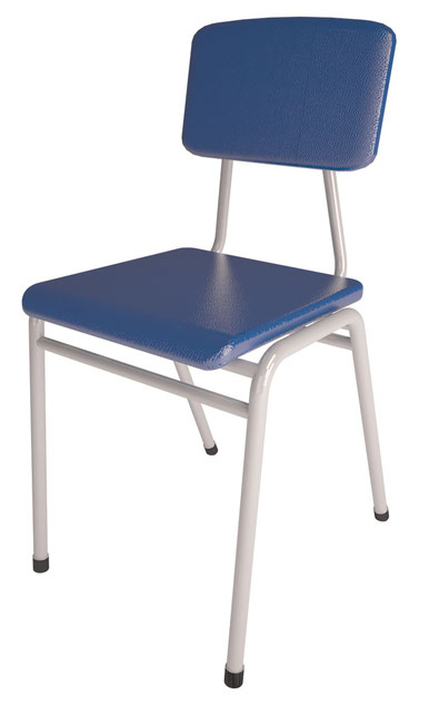 Sillas escolares normadas mr muebles modulares para for Silla escolar ergonomica