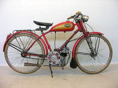 Precioso Ducati Cucciolo Vilar de 1950