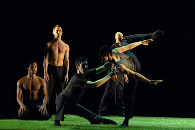 The Green, Dancers: Ryan Lawrence, Mitchell-Lee van Rooij, Joaquim Santana, Brandon D'Dell, Mischa van Leuven, 2006.