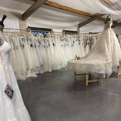 Bridal Tour 2021 - Les Mariés de Mia - Photo non-contractuelle