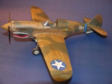 Curtiss P-40 Warhawk - 1/32 Hasegawa