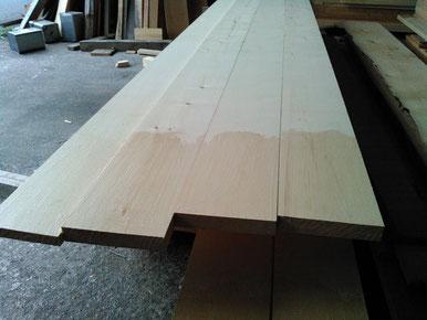ベイヒバの破風板