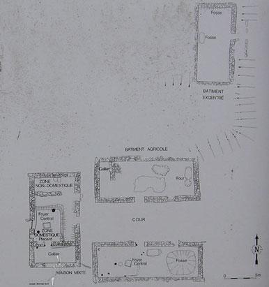 Plan du village de Goënidou