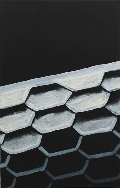 Sandburg aag - 110*70cm - Acryl auf LW - 2016/17