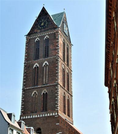 Wismar Reise Tipps: Der Turm der Marienkirche