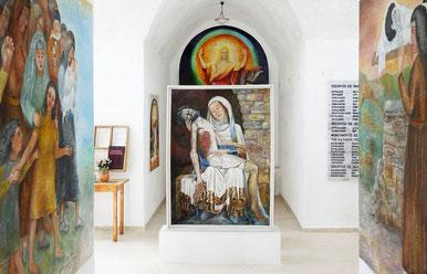 Friedenskapelle Grigoria Innen