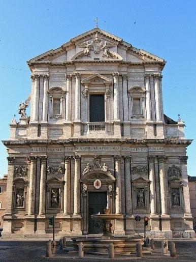 アンドレア・デッラ・ヴァッレ教会(ローマに実在する)