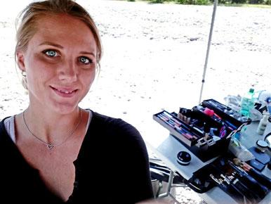Ein weiterer Einblick in meine Arbeit als make up artist -Werbefilm/Fotos mit DMAX