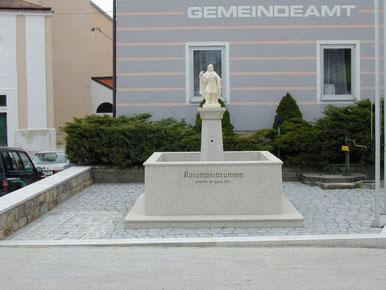 Kolomanibrunnen, Eisgarn