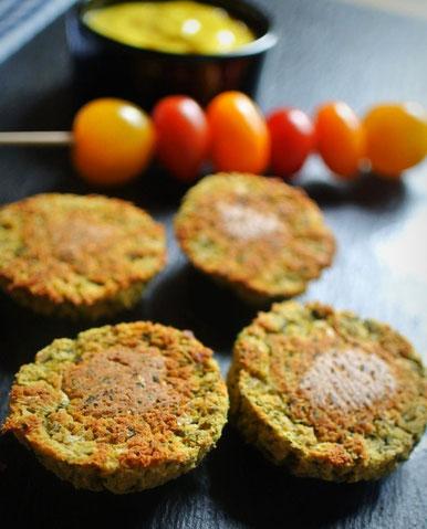 Falafel ohne Ausbacken aus dem Ofen - auch für Thermomix