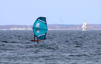 Wingschule, Wingsurfen, Ostsee, Lübecker Bucht, Fehmarn