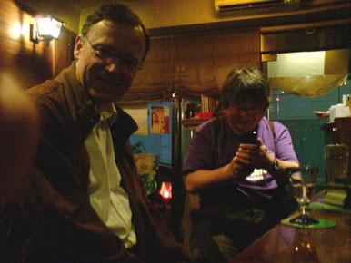 ハノーファー市長、ヴァイル氏と、2008年5月 広島で