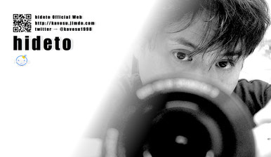 "hideto:横浜出身 1998年""かぼす""を結成。趣味食べ放題とDIET。特技リバウンド。"