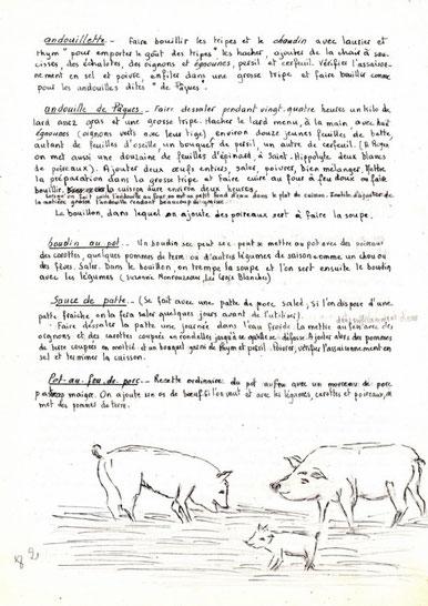 Les viandes, la goraille 6