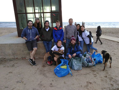 Beach Clean Up Barcelona