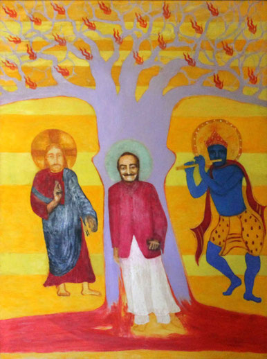 "49. "" I was Khrishna, I was Jesus, I am Now Meher Baba  No.2 "" : Courtesy of Anthony & Charmaine Foley"