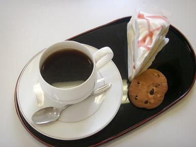 ケーキ・コーヒー