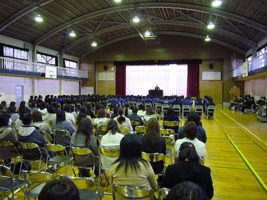 郡山市立喜久田中学校「教育講演会」