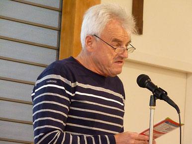 12-Enfin, Jean Hirrien a présenté le projet de guide de la paroisse qui sortira en septembre prochain