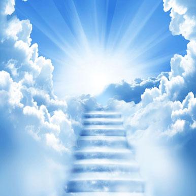 Les cieux dominent la terre. Dans les cieux se trouvent Jéhovah Dieu, Jésus, les myriades d'anges. Le ciel peut être est une métonymie désignant les êtres spirituels (Dieu, Jésus, les anges) ou leur autorité. Le ciel est « le trône de Dieu ».
