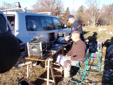 L'équipe décamétrique & modes numériques  F8NZQ & F5SDT