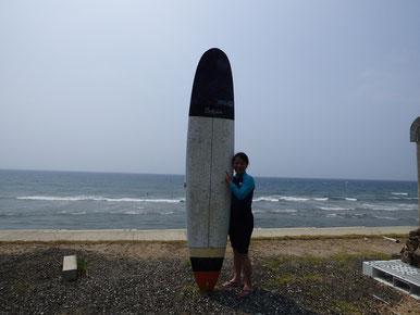 お疲れ様でした~! ぜひ一緒にサーフィンしましょうね(^O^)/