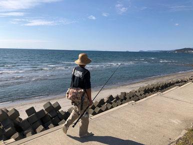 パパは釣りへ