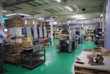 印刷工場写真(株式会社センタ・テコ)