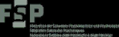 Logo FSP Föderation der Schweizer Psychologinnen und Psychologen