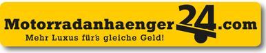 Logo Motorradanhaenger24.com Motoranhaengervermietung in Kamp-Lintfort
