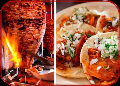 Tacos al pastor y parrilladas