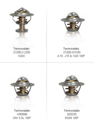 termostatos enfriamiento partes refacciones montacargas mexico