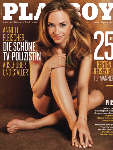 Isabell horn playboy germany april 2015 1 3