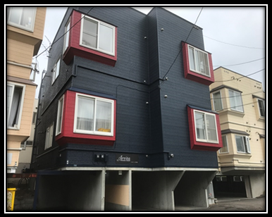 札幌アパート外壁塗装はお任せください♪