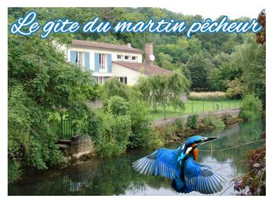 Logo du gîte du martin pêcheur - Haironville - Meuse